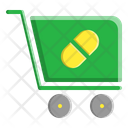 Trolley Pharmacy Medicine Icon