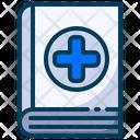Medical Healthy Medical Book Icon