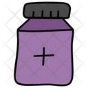 Medicines Bottle Tablets Container Pills Icon