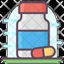 Medicine Bottle Medicine Jar Pills Jar Icon