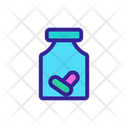 Sport Nutrition Pill Icon