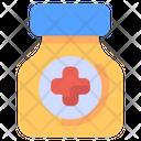 Medicine Drugs Virus Icon