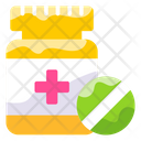 Healthcare Tablet Box Vector Icon