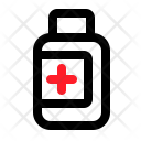 Medicine Bottle Syrup Icon