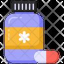 Pill Bottle Medicine Bottle Drug Bottle Icon