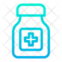 Medicine Bottel Tablets Icon