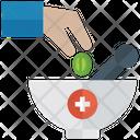 Medicine Bowl Pharmacist Pharmacy Tool Icon