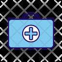 Medicine Box First Aid Kit Medical Kit Icon