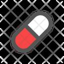 Medicine Capsules Health Care Icon
