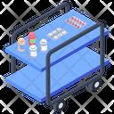 Medicine Cart Icon