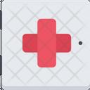 Medicine Chest Hospital Care Icon