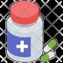 Medicine Pills Bottle Icon
