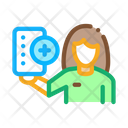 Drug Delivery Courier Icon