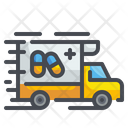 Medicine Delivery Delivery Drug Pharmacy Icon