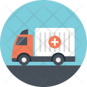 Medical Delivery Transport Icon