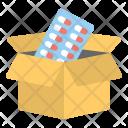Medicine Delivery Box Icon