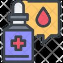 Drop Medicine Drop Liquid Medicine Icon