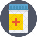 Medicine Jar Drugs Icon