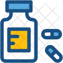 Medicine Jar Drugs Icon