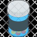 Medicine Jar Pill Bottle Prescription Drug Icon