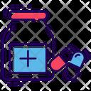 Medicine Jar Pills Jar Medication Icon