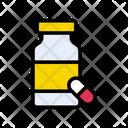 Capsule Drugs Bottle Icon