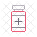 Jar Medicine Healthcare Icon