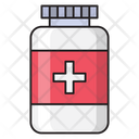 Jar Bottle Medicine Icon