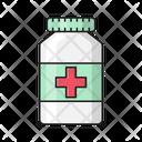 Medicines Jar Drugs Icon