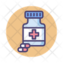 Pill Bottle Icon