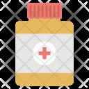 Medicine Jar Pill Icon