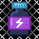 Icon Tablets Jar Sport Medicne Health Icon