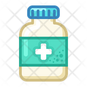 Icon Tablets Jar Medicne Health Icon