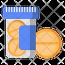 Medicine Jar Drug Aspirin Icon