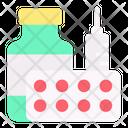 Medicine Jar Medicine Medical Icon
