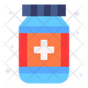 Medicine Jar Pharmaceutical Medication Icon
