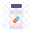 Medicine Jar Syrup Treatment Icon