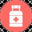 Medicine Jar Dog Food Dog Multivitamins Icon