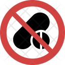 Medicine not allowed Icon