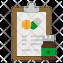 Medicine Note Prescription Note Icon