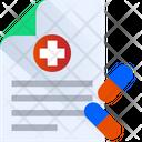 Medicine Report Icon