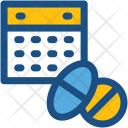 Medicine Schedule Time Icon