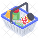 Medicine Shopping Bucket Icon