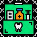Medicine Storage Box Icon