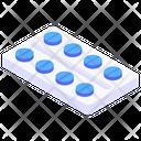 Medicine Strip Medication Pills Icon