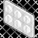Medicine Strip Icon