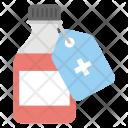 Medicine Branding Tag Icon