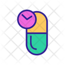 Dosage Medical Contour Icon