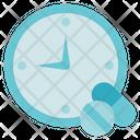 Pharmacy Time Medicine Icon