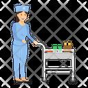 Medicine Trolley Medicine Cart Surgical Trolley Icon